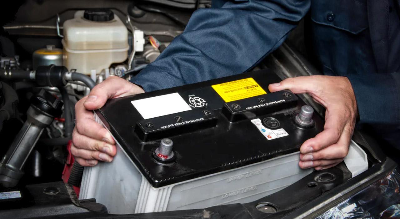 Como funciona una batería de auto